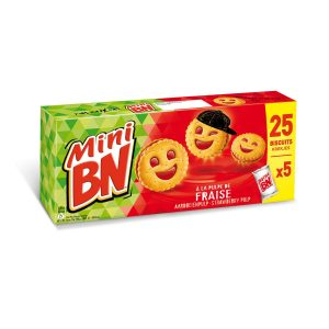 French Biscuit Mini BN Strawberry My French grocery