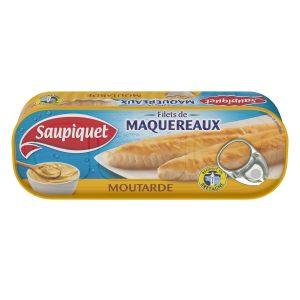 Filets De Maquereaux A La Moutarde Saupiquet - My French Grocery