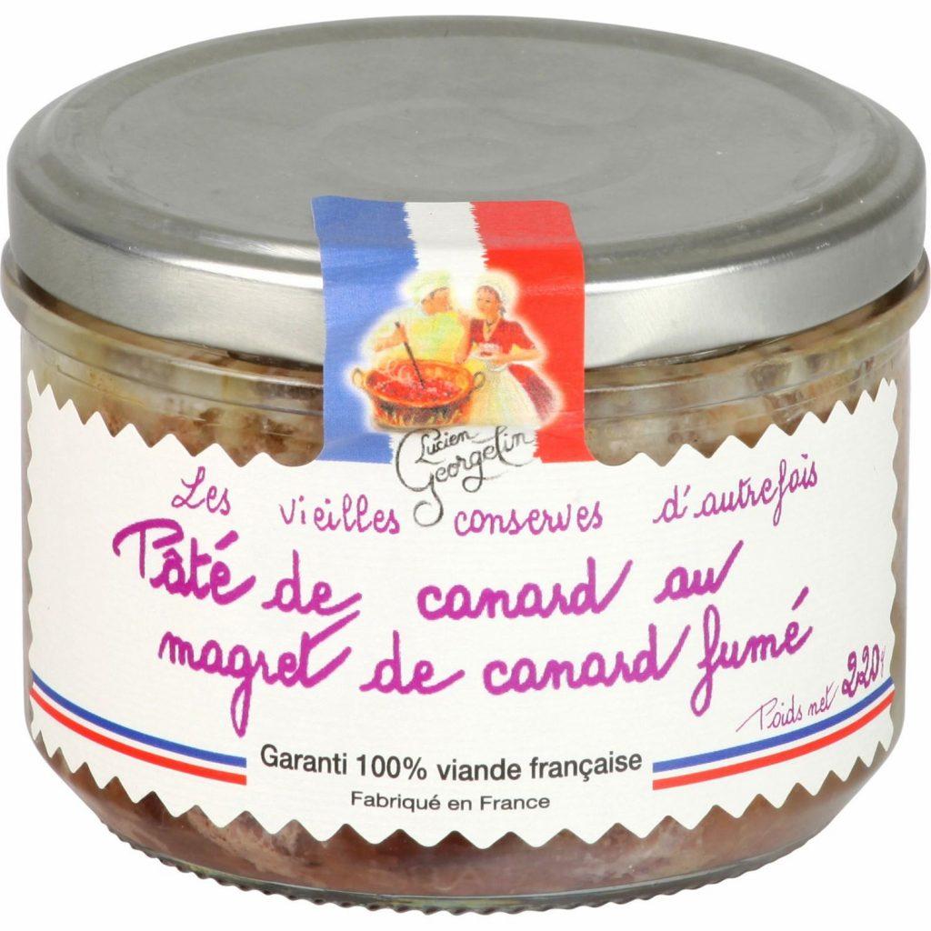 Paté De Pato Con Magret Lucien Georgelin