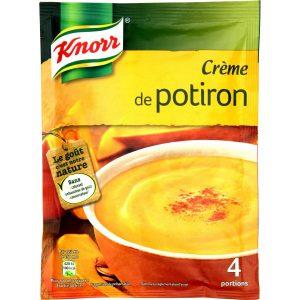Soupe Crème De Potiron Knorr - My French Grocery