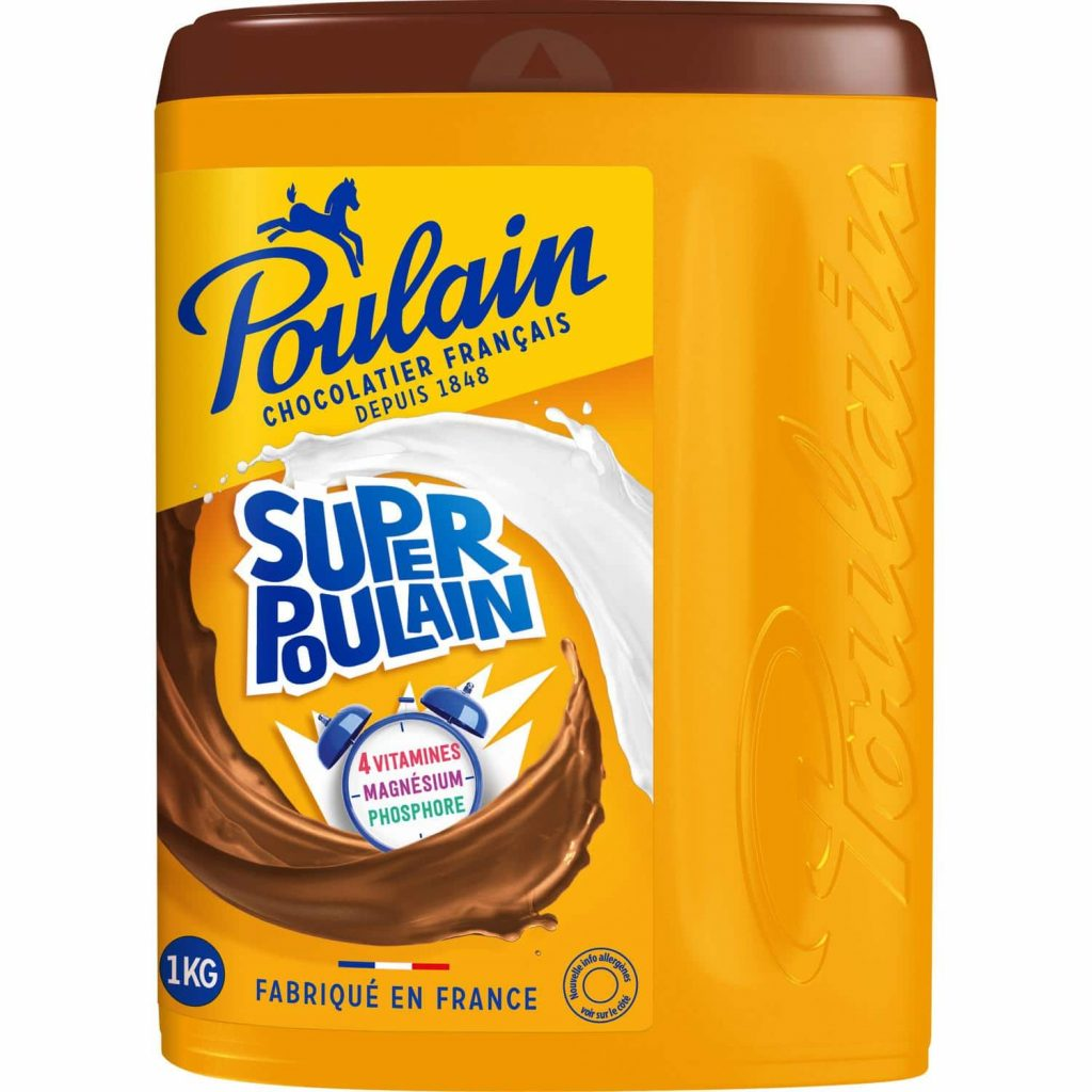 Chocolat En Poudre Super Poulain - My French Grocery
