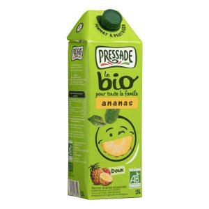Jus D'Ananas Bio Pressade - My French Grocery