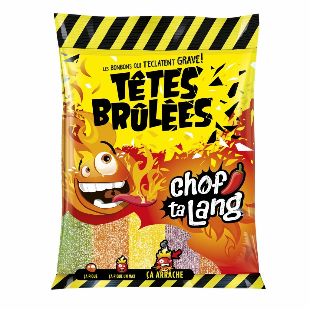 Bonbons Têtes Brulées Chof Ta Lang - My French Grocery
