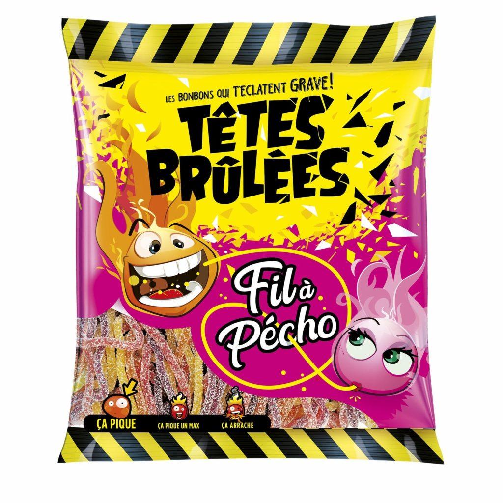 Bonbons Têtes Brulées Fil à Pécho - My French Grocery