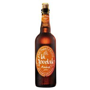 Cerveza ámbar La Goudale
