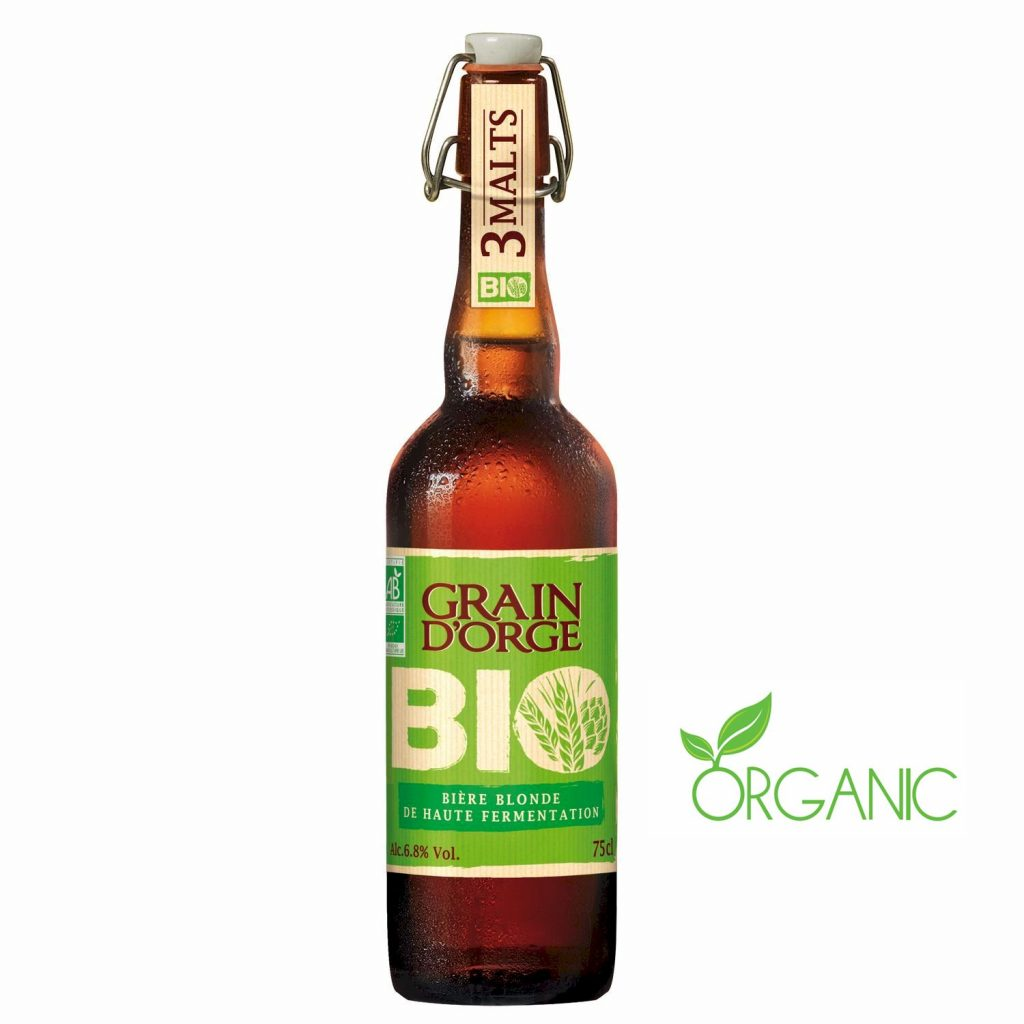 Bière Blonde Bio Grain d'Orge - My French Grocery