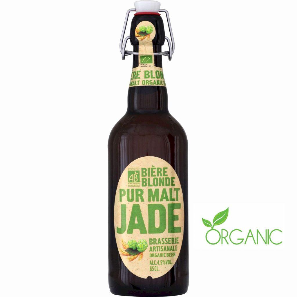 Bière Blonde Bio Jade - My French Grocery