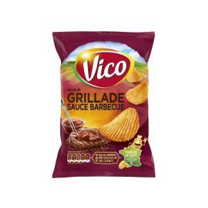 Chips Grillade Sauce Barbecue Vico - My French Grocery