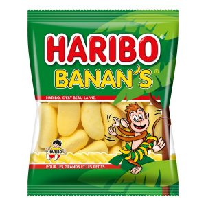 Caramelos Original Haribo Banan's
