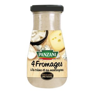 Sauce 4 Fromages Panzani - My French Grocery