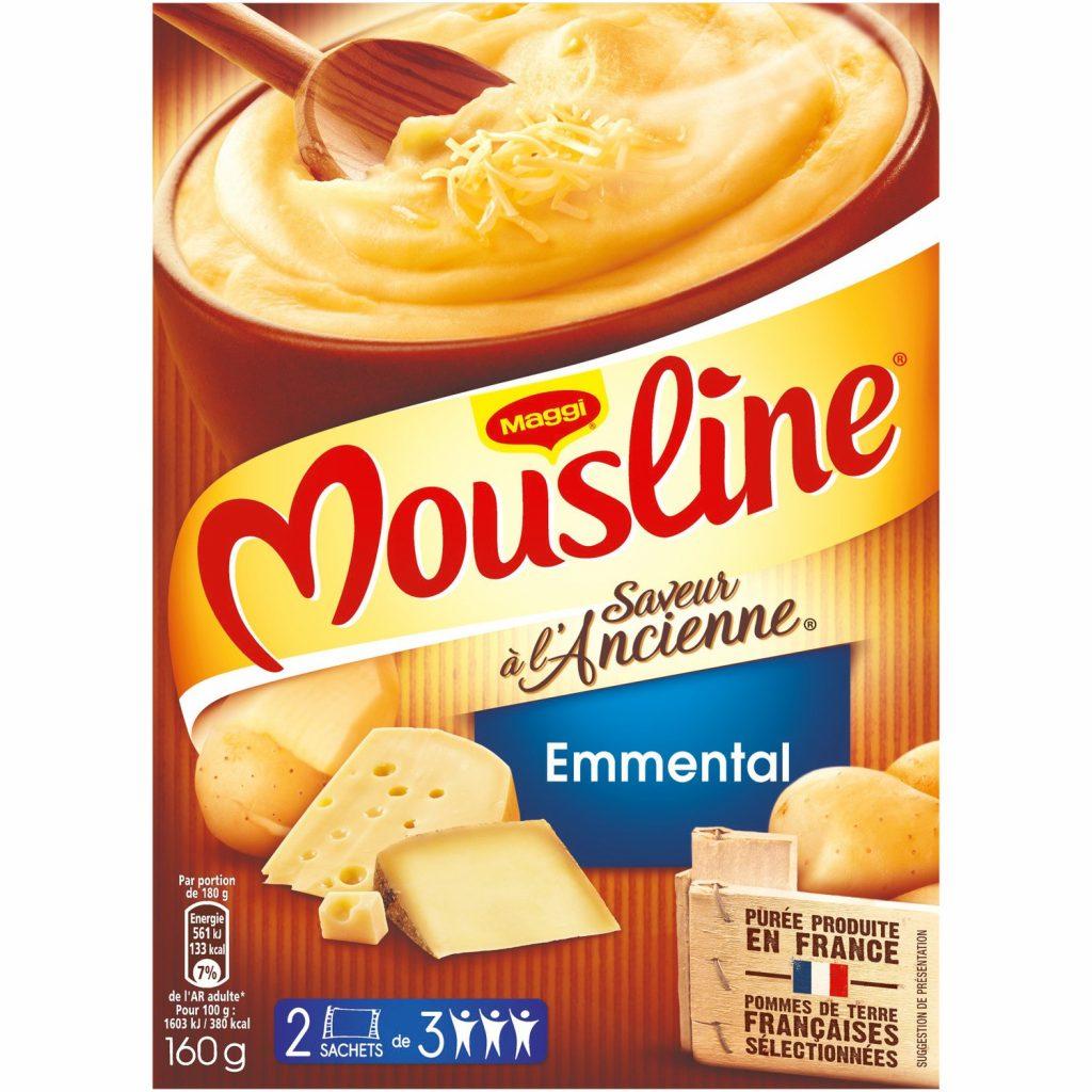 Purée à l'Emmental Mousline - My French Grocery