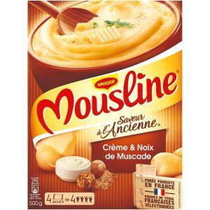 Purée En Flocons Crème & Noix Muscade Mousline - My French Grocery