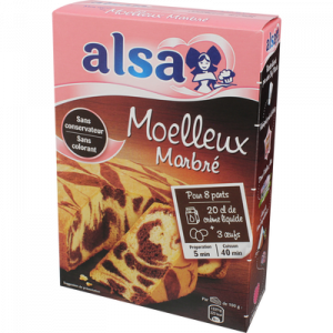 Alsa Marble Chocolate Cake Mix