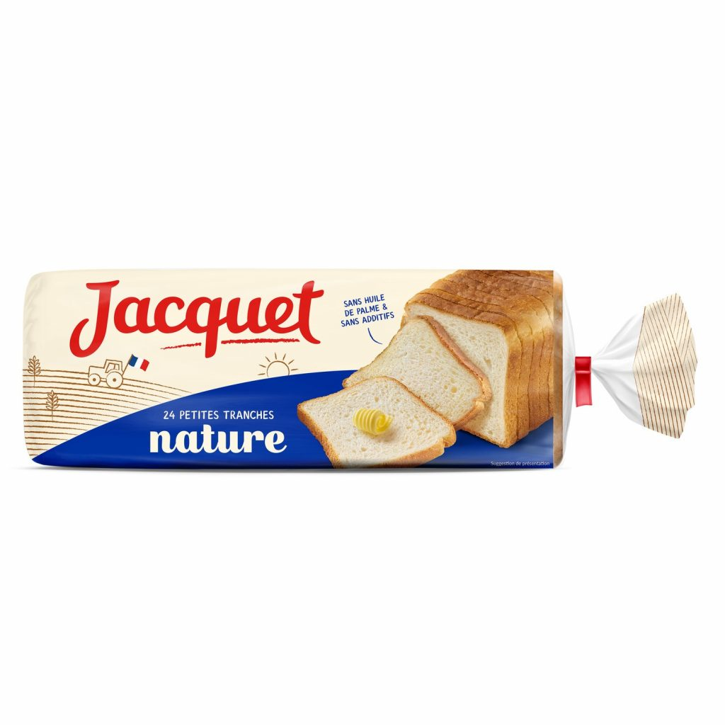 Soft Bread Jacquet - Small Slices