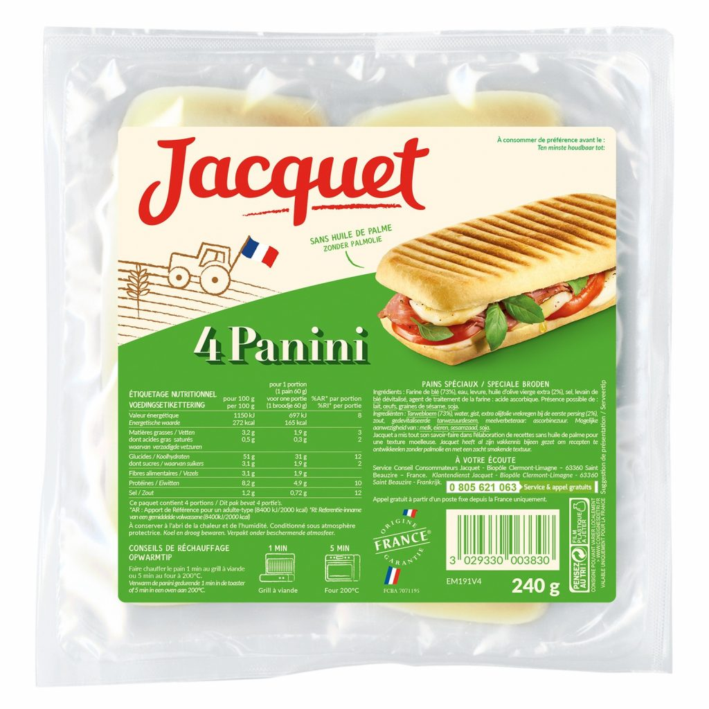 Panini Special Bread Jacquet