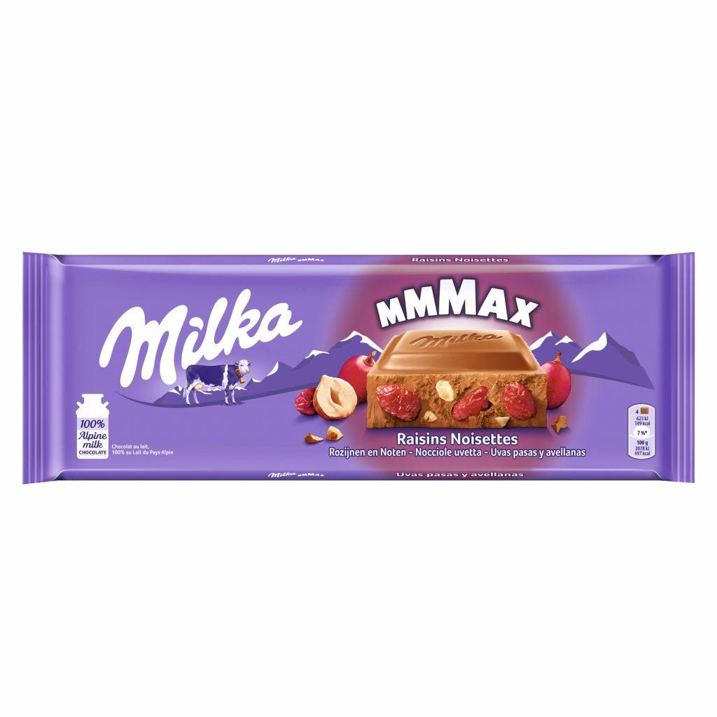 Chocolate Raisin & Nuts Milka