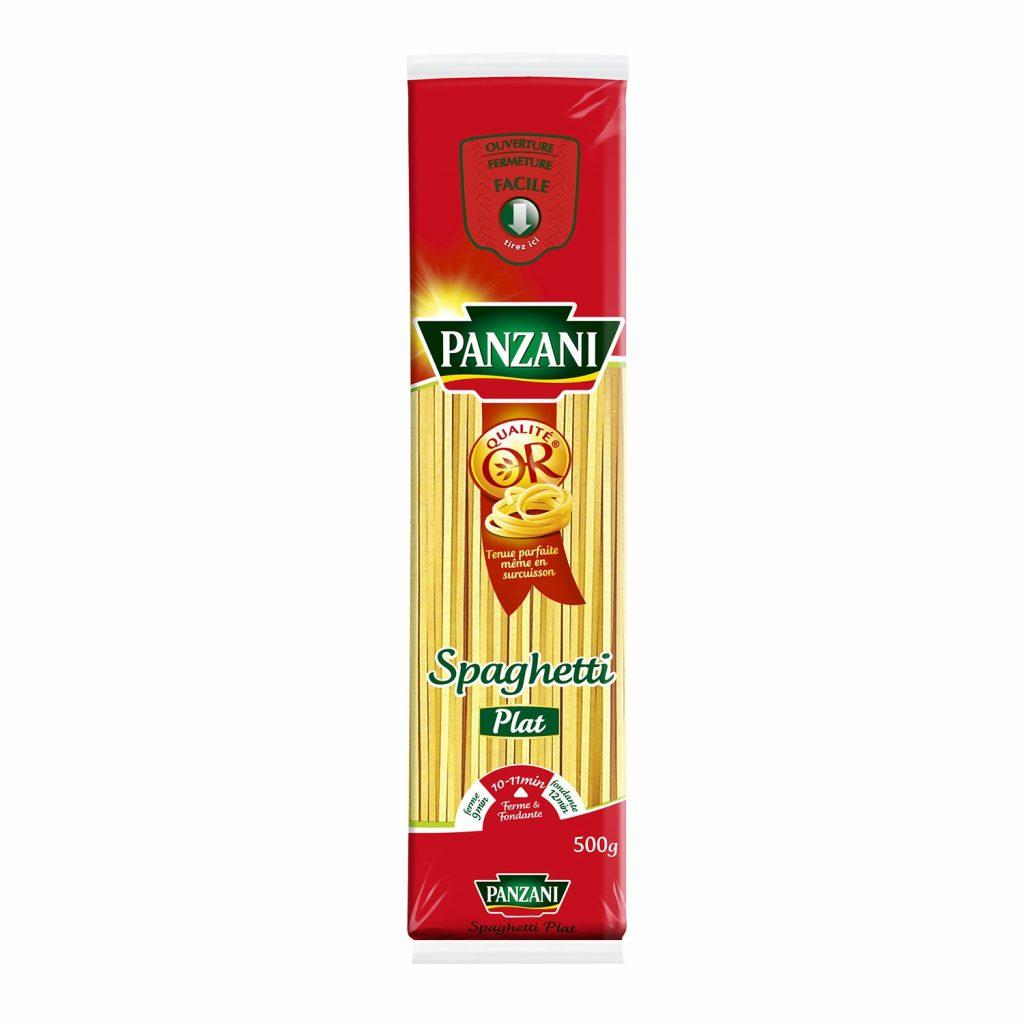 Pasta Flat Spaghetti Panzani