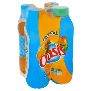 4 X Oasis Tropical Drink
