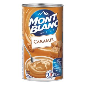 Crema De Postre De Caramelo Mont-Blanc