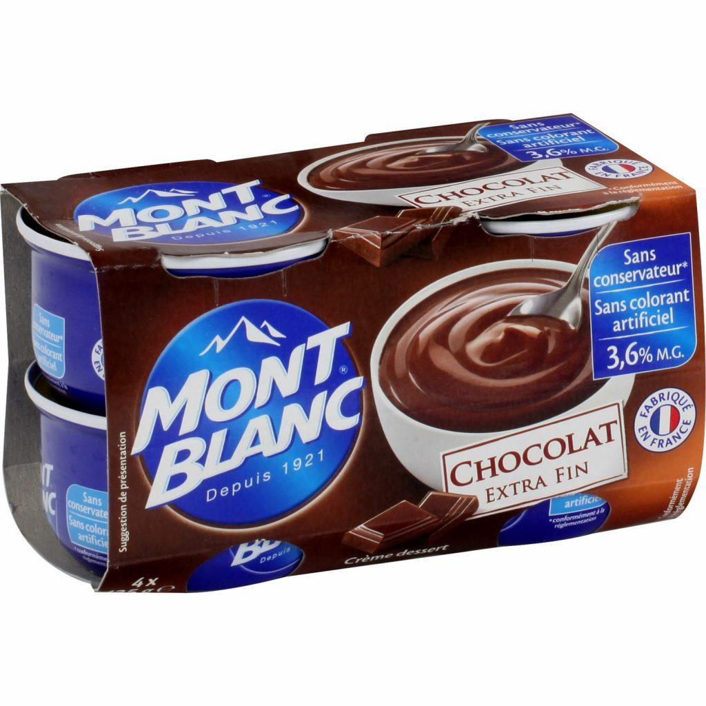 Crèmes Dessert Chocolat Mont-Blanc - My French Grocery