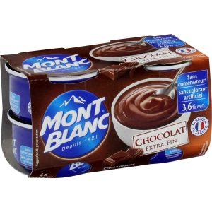 Crèmes Dessert Chocolat Mont-Blanc - My French Grocery