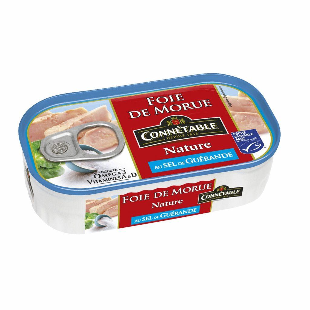 Foie De Morue Au Sel De Guérande Connetable - My French Grocery