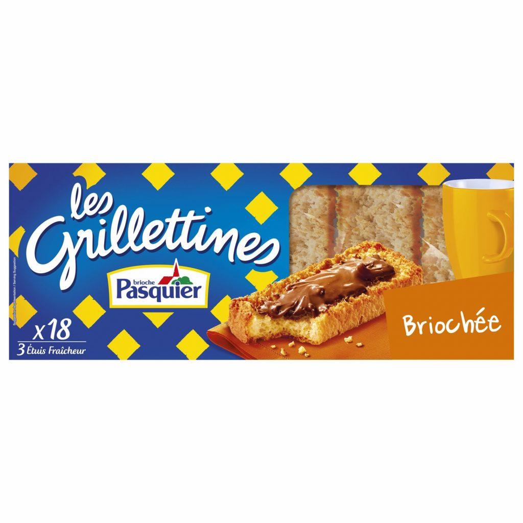 """""""Grillettines"""" Brioche Rusks Pasquier"""