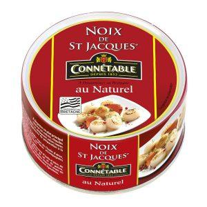 Noix De St Jacques Au Naturel Connetable - My French Grocery