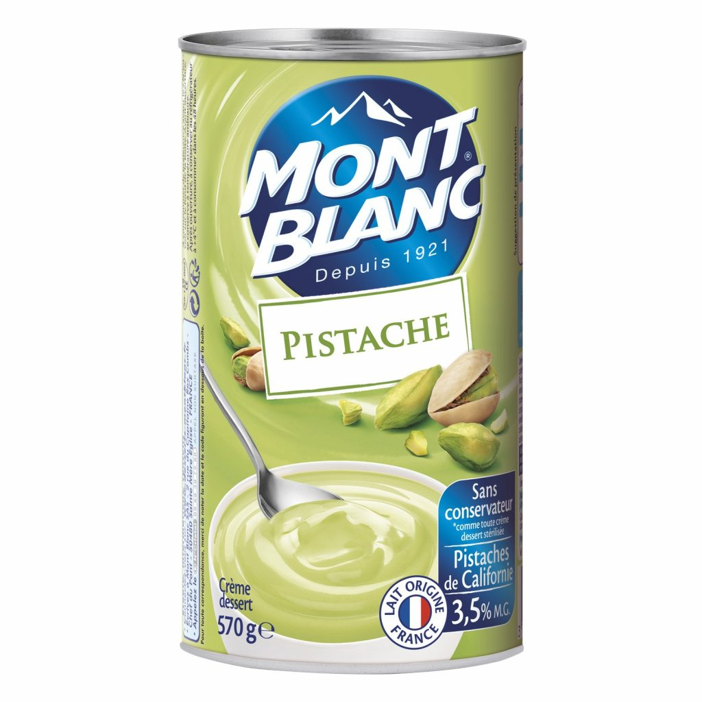 Crème Dessert Pistache Mont-Blanc - My French Grocery