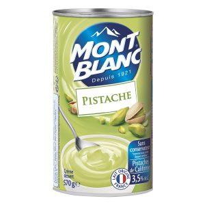 Crema De Postre De Pistacho Mont-Blanc