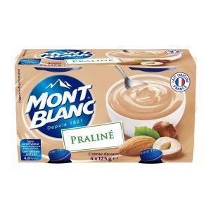 Cremas De Postre Praliné Mont-Blanc