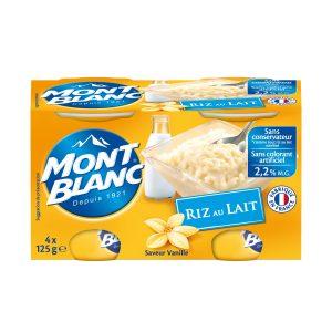 Vanilla Rice Pudding Mont-Blanc