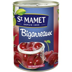 Fruits Au Sirop Bigarreaux St-Mamet - My French Grocery