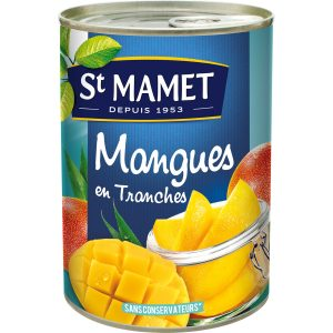Fruits Au Sirop Mangues En Tranches St-Mamet - My French Grocery