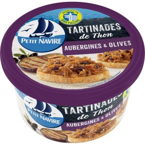 Tartinades Thon Aubergines Olives Petit Navire - My French Grocery
