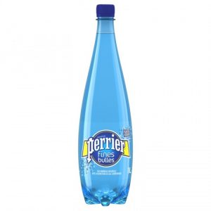 Natural Mineral Sparkling Water Fine Bubbles Perrier