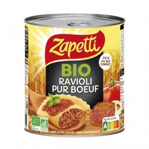 Ravioli Pur Bœuf Bio Zapetti - My French Grocery