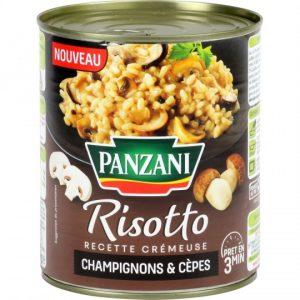 Mushroom Risotto Panzani
