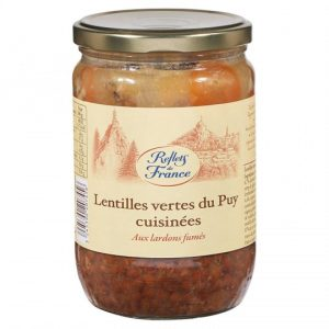 Lentils With Fried Bacon Reflets De France