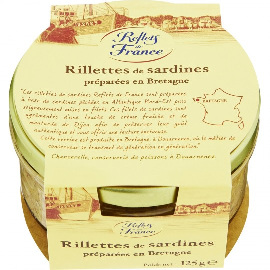 Rillettes De Sardines Reflets De France - My French Grocery