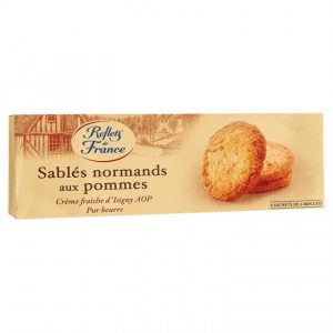 Sablés Normands Aux Pommes Reflets De France - My French Grocery