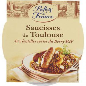Toulouse Sausage With Lentils Reflets De France