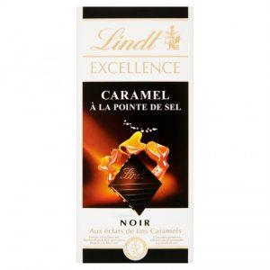Chocolate Negro Caramelo Salado Lindt