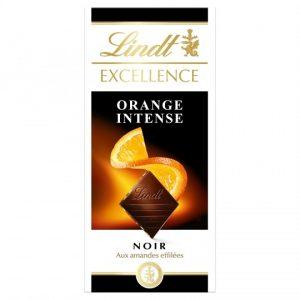 Chocolate Negro Naranja Intense Lindt