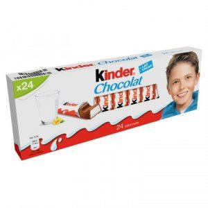 Chocolate Bars Kinder Chocolat X24