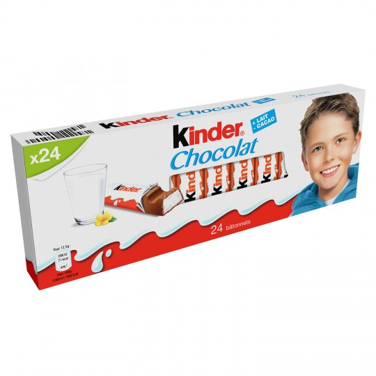 Chocolate Bars Kinder Chocolat X24