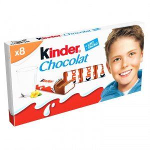 Chocolate Bars Kinder Chocolat X8