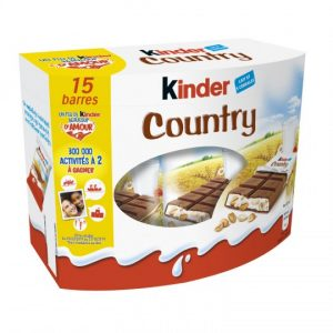 Cereal Chocolate Bars Kinder Country X15