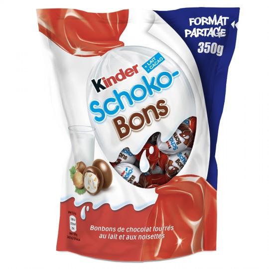Bonbons Chocolat Lait Noisettes Kinder Schoko-Bons - My French Grocery