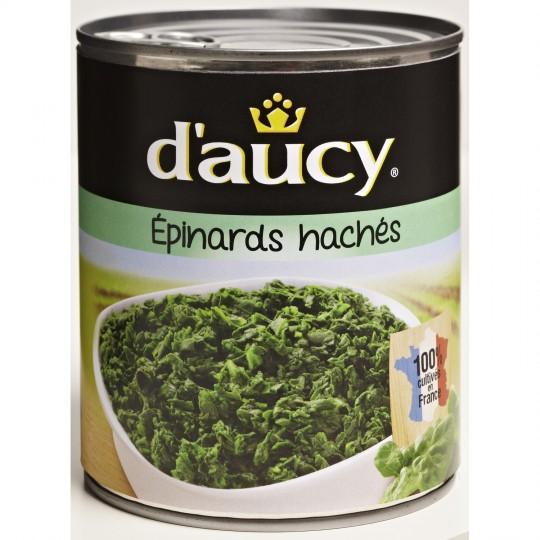 Chopped Spinach D'Aucy XL